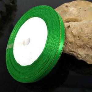 ruban de satin 6 mm vert