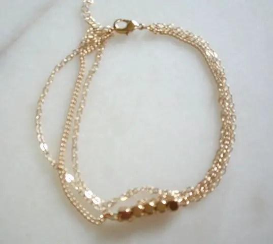 réf 12-b-0004 bracelet de cheville