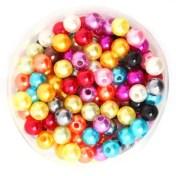 réf 12-p-08-0002 perles de couleurs mélangées de 6 mm