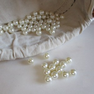 réf 12-p-08-0003 perles blanches 8 mm