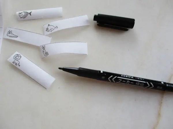 réf 06-1-4-e-2 crayon marqueur vêtement