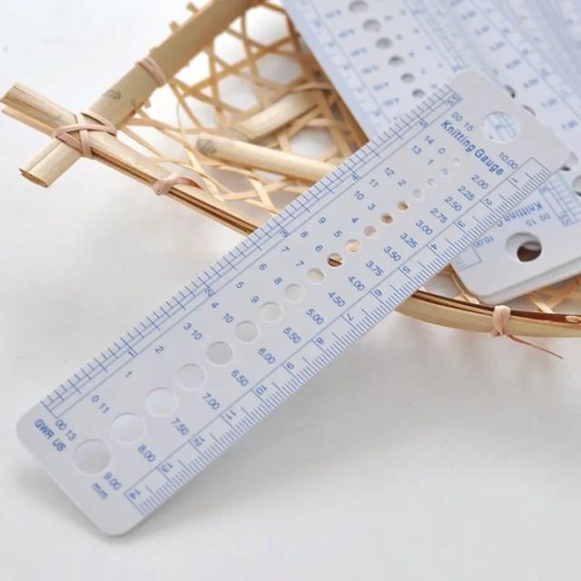 réf 01-acp-004 règle pour calibre tricot