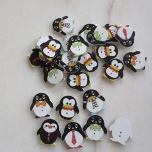 bouton pingouin