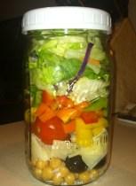Lunch.  In a jar.  A little weird.  But also GENIUS.