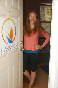 Bethany Diddle of Shaka Yoga. Photo courtesy of Shaka Yoga.