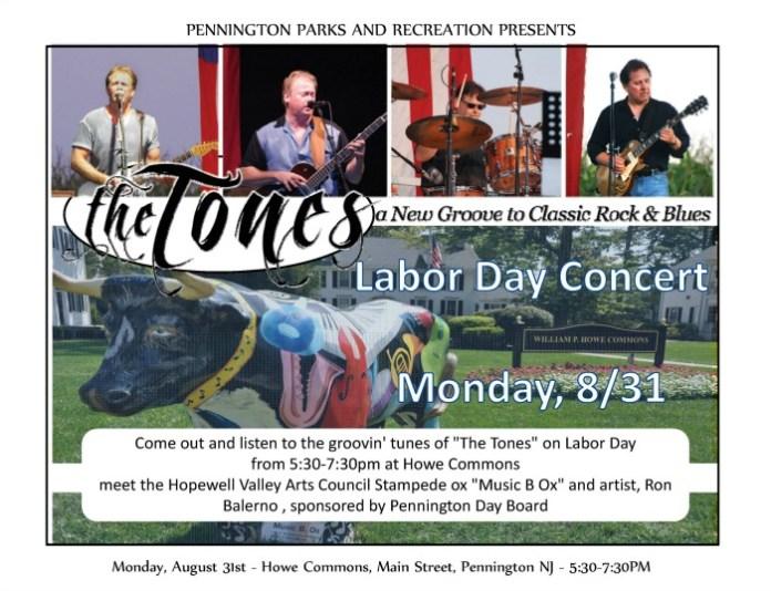 Pennington Parks and Rec Hosts Labor Day Concert