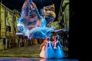Jillian Davis as the Snow Queen with Princeton Youth Ballet