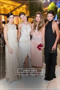 Stylecaster's example of women in creative black tie attire