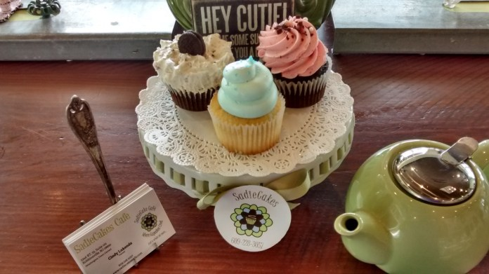 The Taste Chase Goes to SadieCake's Cafe on The Great Cake Quest