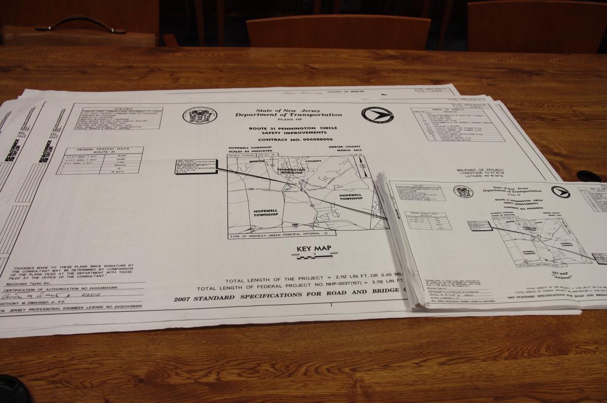 pennington circle construction to start soon improvement details