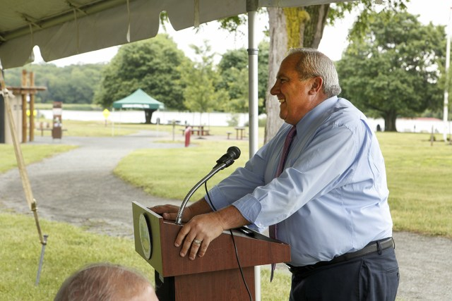 Mercer County Parks Executive Director Kevin Bannon (Photo by Cie Stroud)
