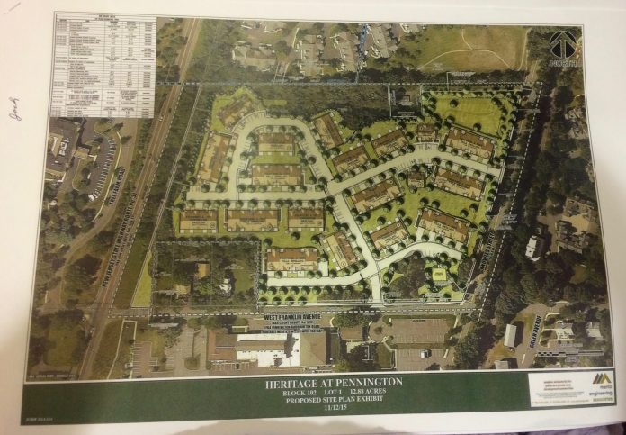 Pennington Planning Board gives final approval for Heritage at Pennington