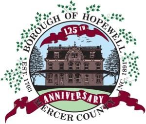 125th anniversary hopewell borough