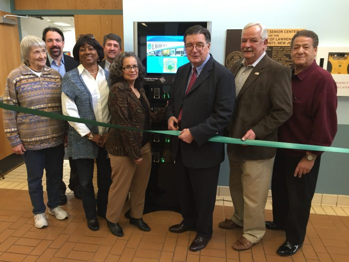 First Mercer County Phone Cell Phone Charging Station Unveiled in Lawrence