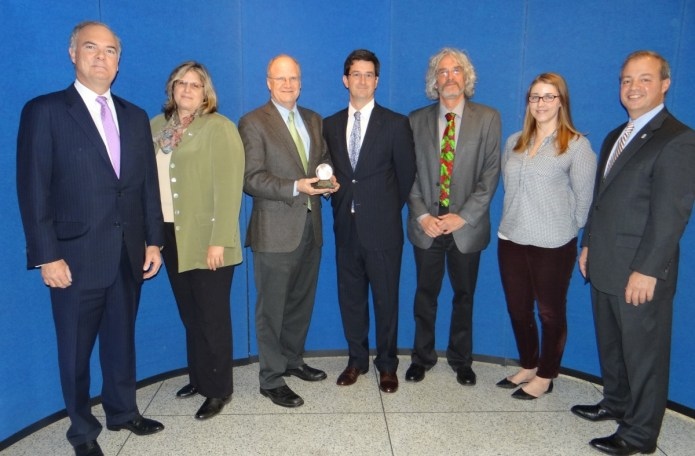 Stony Brook- Millstone Watershed Association Receives Governor's Award for Environmental Excellence