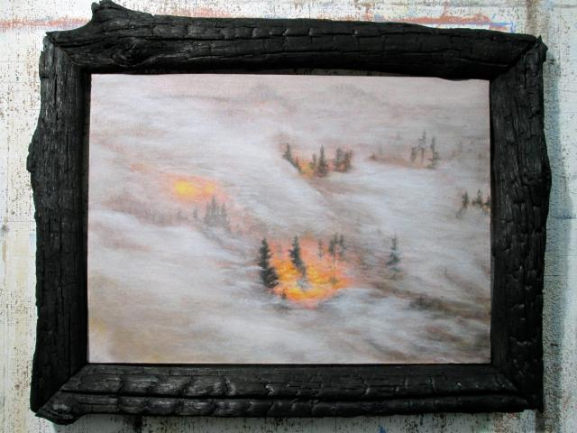 "Silvere Boureau ""Forest Fire"""