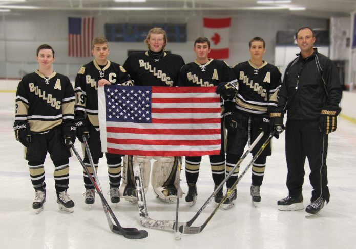 Join Hopewell Valley Varsity Ice Hockey for a Salute to Service Hockey Game