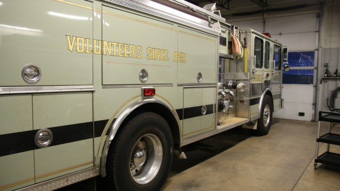 Residential Structure Fire in Hopewell Township