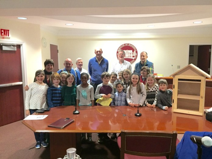 Third Grade Class in Hopewell Asks Permission to Install Little Libraries