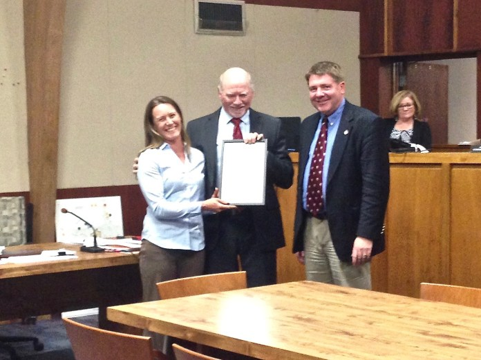 Local Farmer Recognized by Hopewell Township for National Achievements