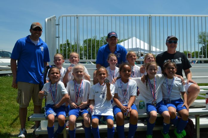 Hopewell Valley U8 Girls Dust Devils Close Out a Great Season