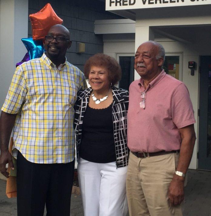 New Jersey State Senator Shirley Turner honors Arzaga Dillard