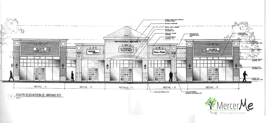 Strip Mall on Broad Street: Hopewell Considers Revised