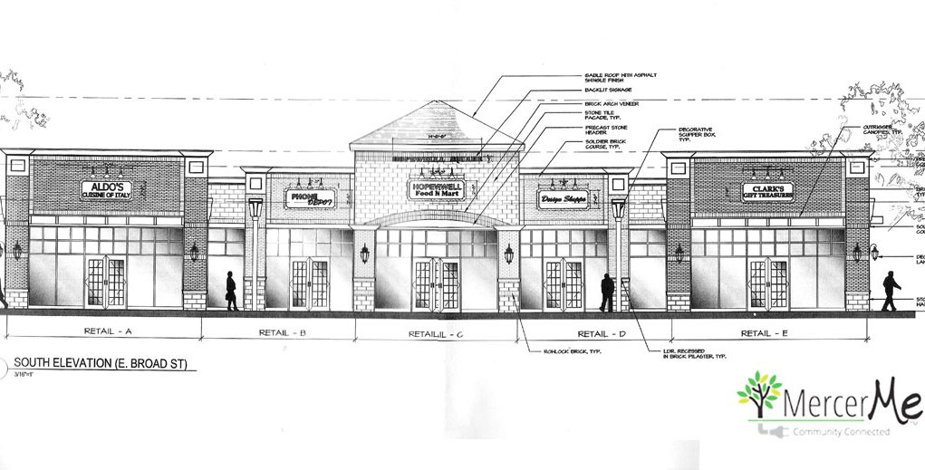 Strip Mall On Broad Street Hopewell Considers Revised