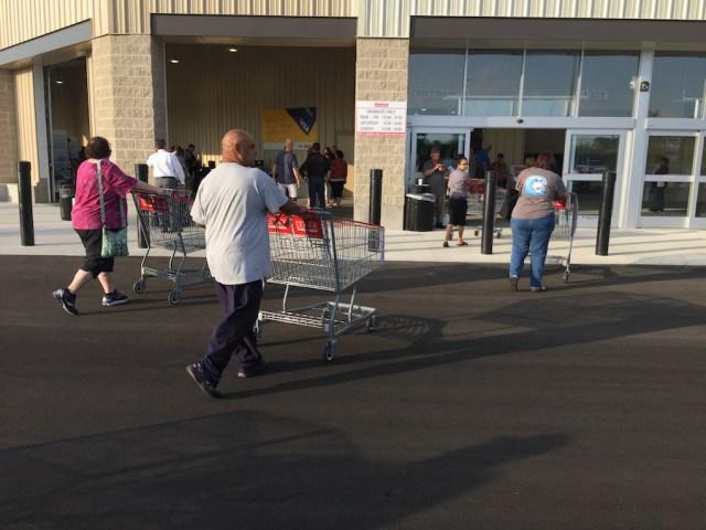 Costco shoppers