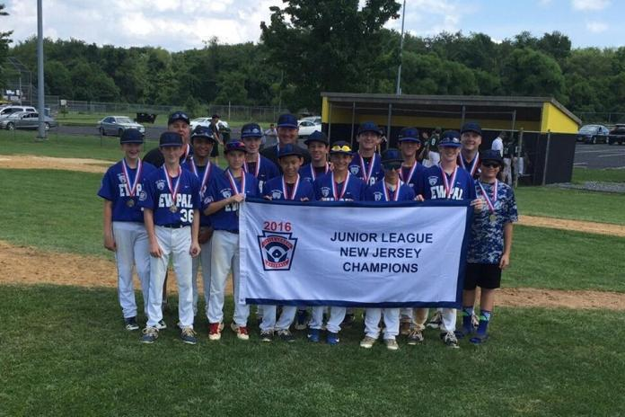 East Windsor PAL Junior Little League Division Captures First State Championship Title