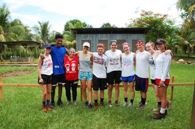LHS students from left to right: Lily Friedman, Michael Pernell, Alyssa Katz (teacher), Sarah Marion, Kyle Schuler, Sarah Tennant, Lauryn Jodoin, Owen Cutaneo, Nelle Evans, and Emily Castoral.