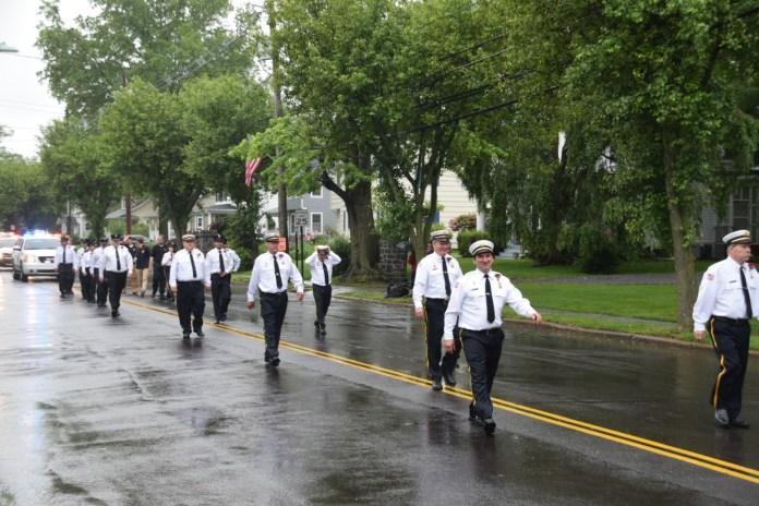 Pennington Celebrates Memorial Day Despite Rain