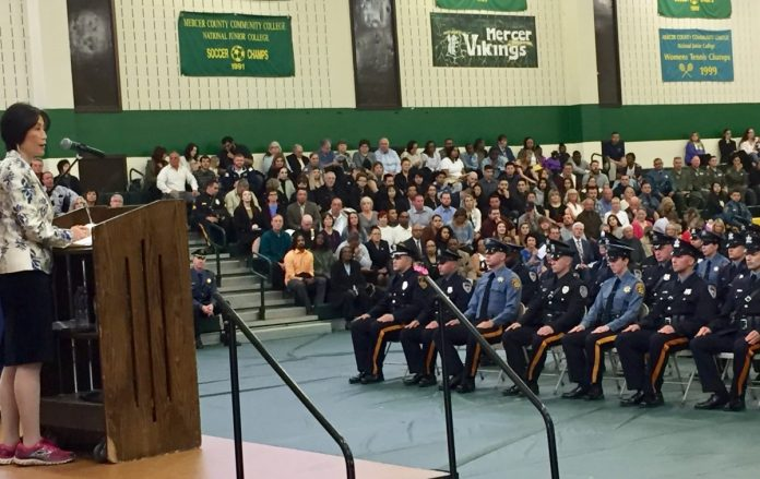 Mercer County Police Academy Graduates 16th Class of Police Officers