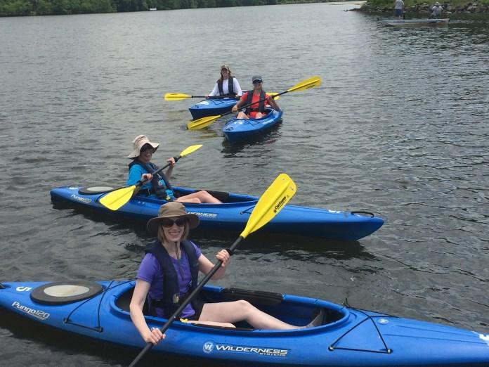 Park Commission Offering Kayak Tours of Mercer Lake