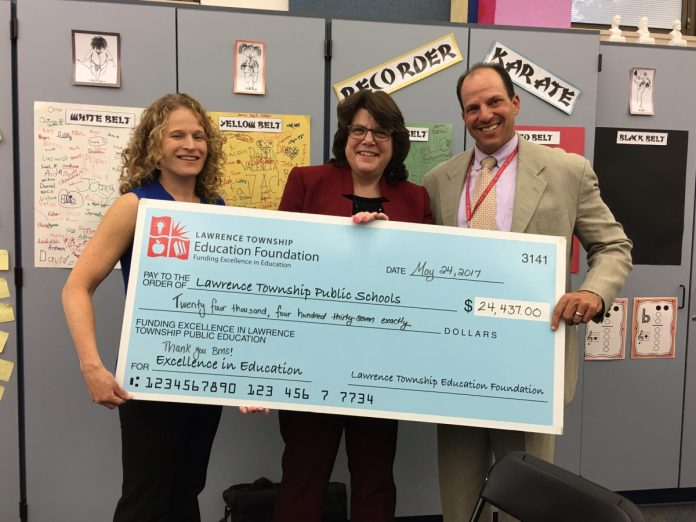 Bristol-Myers Squibb Gives Grant for New Technology Center at Lawrence High School