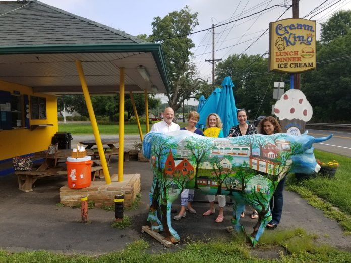 Area Art Ox Becomes Pride of Pennington, Contest Winner Named