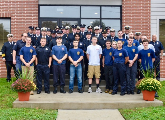 (PHOTOS) Pennington Fire Company holds dedication ceremony for building addition