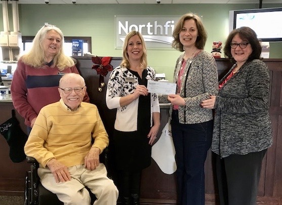 Hopewell Valley Senior Foundation Accepts Donation from Northfield Bank for Rides Program