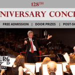 128 anniversary concert event photo