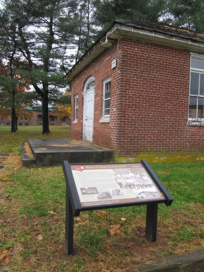New Signs Share Old Hopewell Valley History