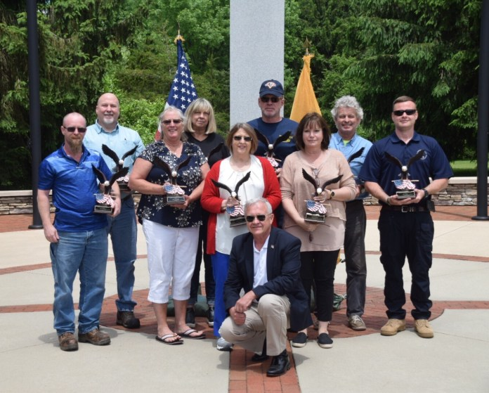 Hopewell Valley Veterans Association Presents Golden Eagle Awards to Ten Recipients