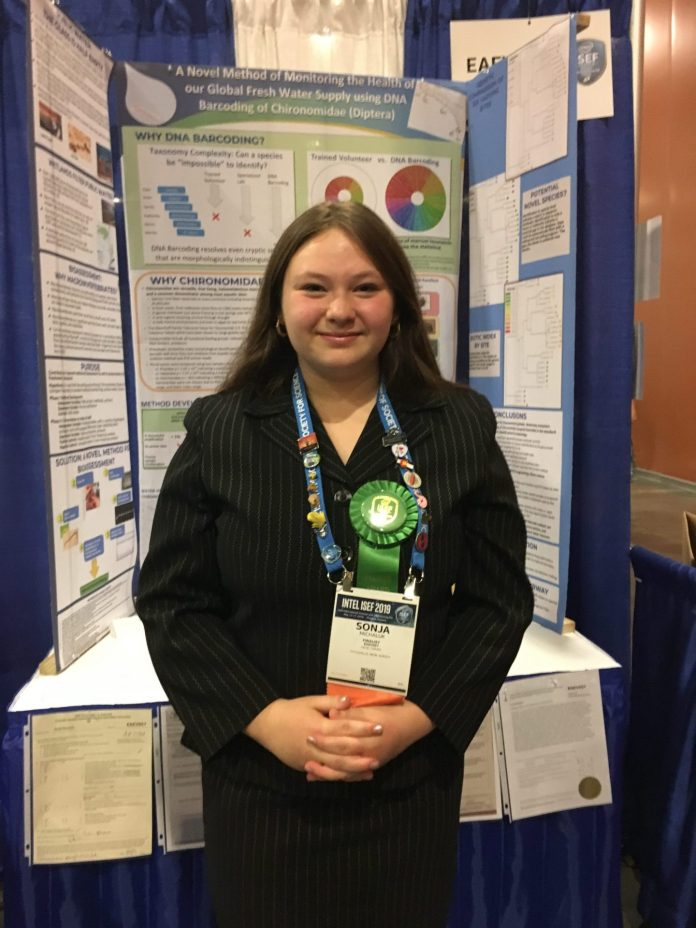 Hopewell Valley Central High School Junior Recognized Internationally for Environmental Genetics Research