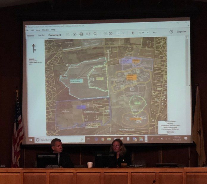 Hopewell Township Land Use Changes at Scotch Road, Allows Gas Station and Hotel