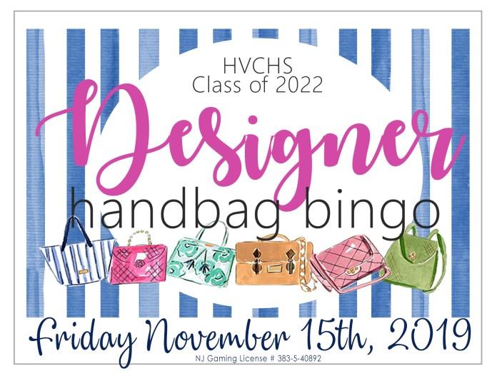 Designer Handbag Bingo – HV Central High School Class of 2022