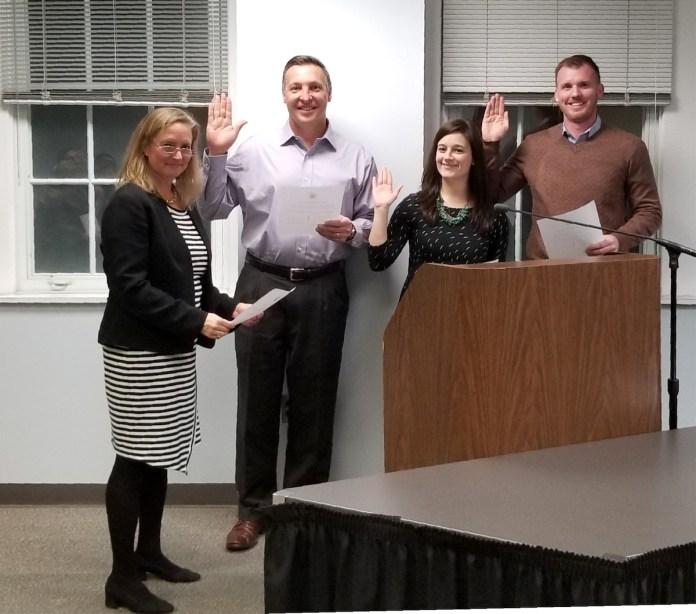 HVRSD BOE swears in new members, elects new President