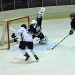 Robbinsvilles Mitch Ducalo scores on HVMs Aidan Schaefer