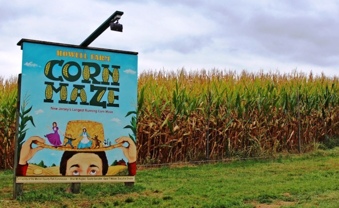 Howell Farm Corn Maze open weekends until November