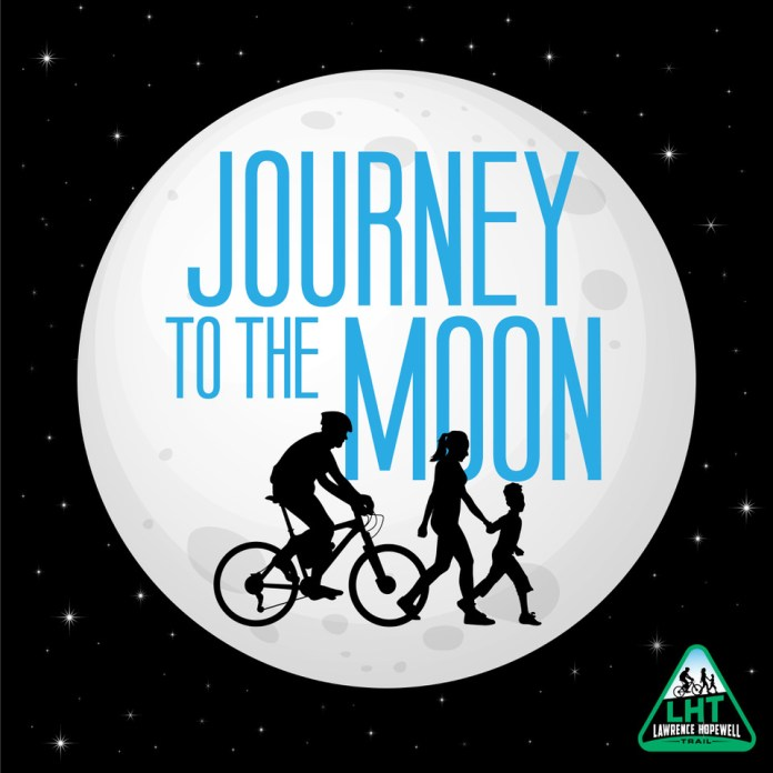 "LHT launches a 238,000-mile community hike and bike ""to the moon"""