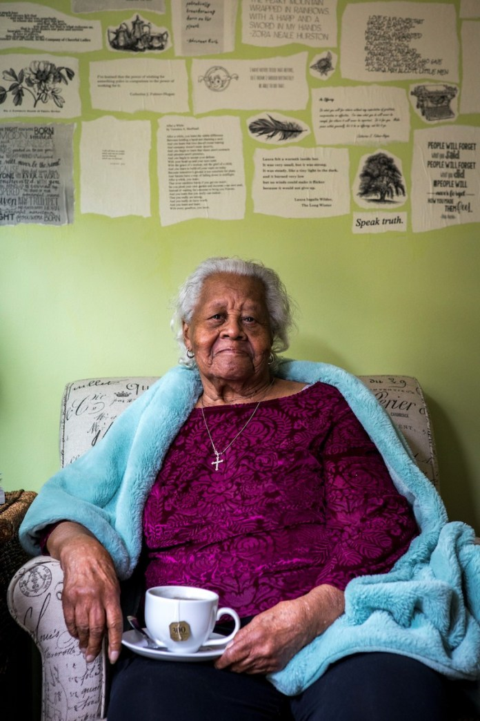 HTC learns about local Black history and wishes Evelyn Brooks a very happy 100th birthday