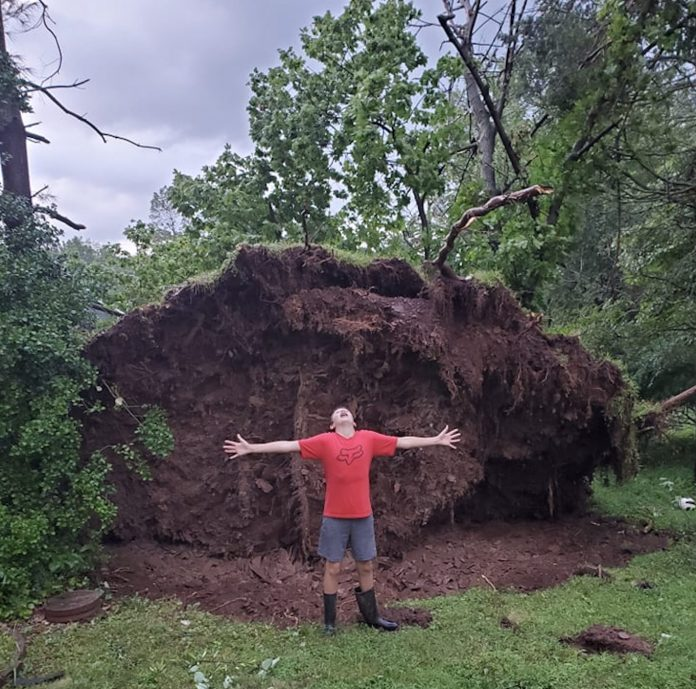Tornado or not, Titusville sustains damage after storm